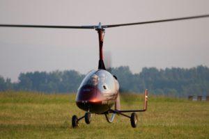 Полет на гирокоптере (автожире)