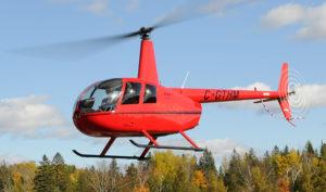Полет на вертолете Robinson R44