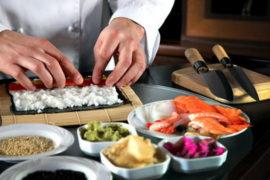 Мастер-классы приготовления суши