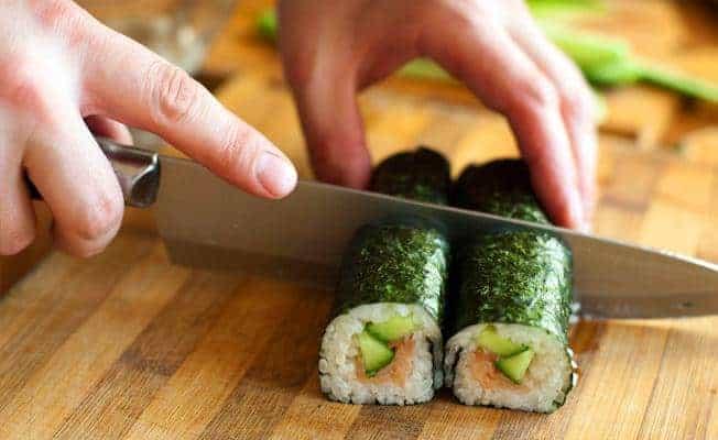 Купон на мастер-класс по приготовлению суши