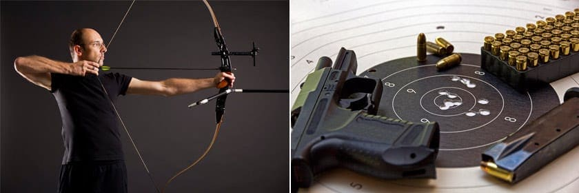 Стрельба из лука и арбалета в тире «Калибри»