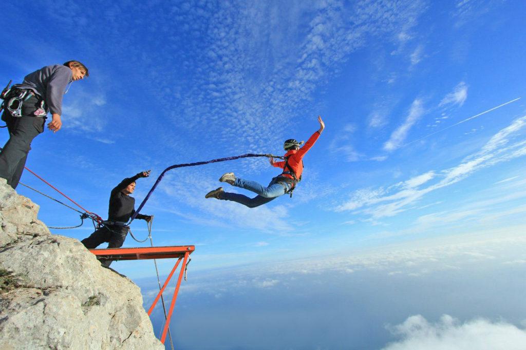 Прыжок с веревкой