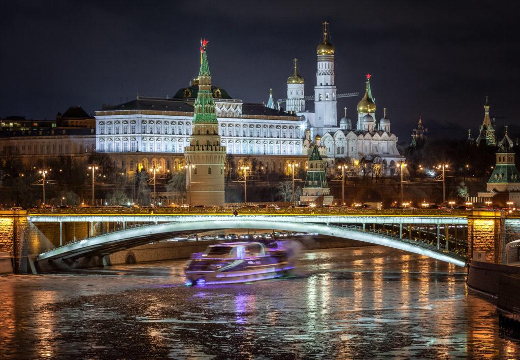 Билеты на экскурсию по вечерней Москве