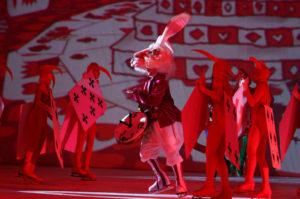 Ледовый спектакль Алиса в стране чудес