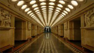 Московское метро и сталинские высотки