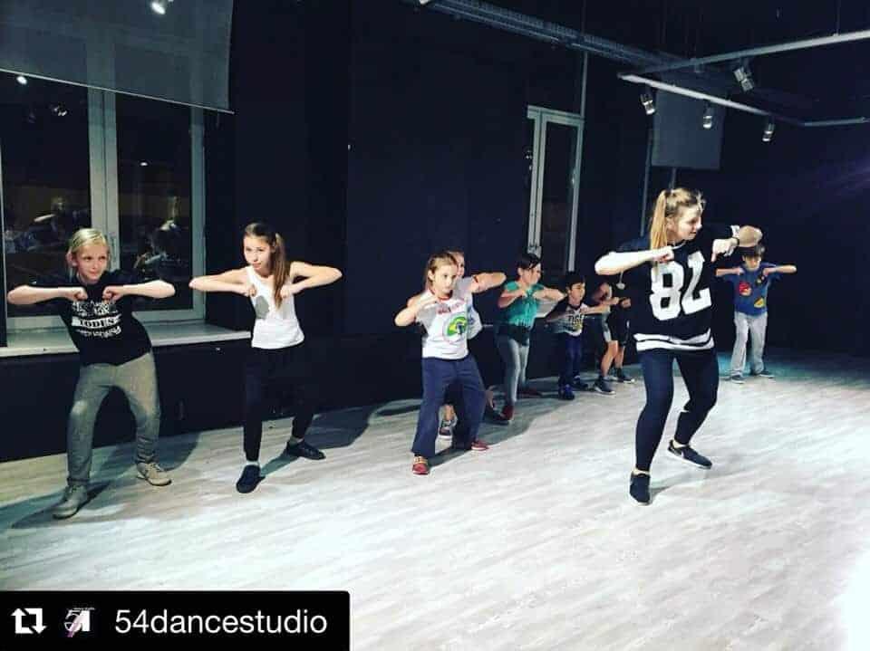 """Абонемент в студию """"54 DANCE STUDIO"""""""