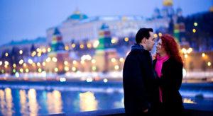 Экскурсия Москва романтическая