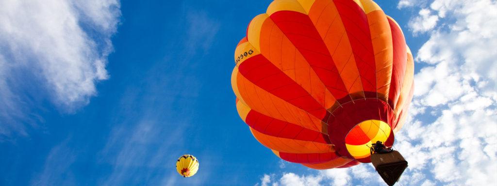 Купон на полет на воздушном шаре