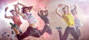 Занятие в школе танцев Trinix