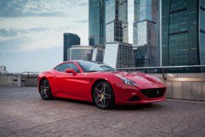 Прокат спорткара Ferrari California