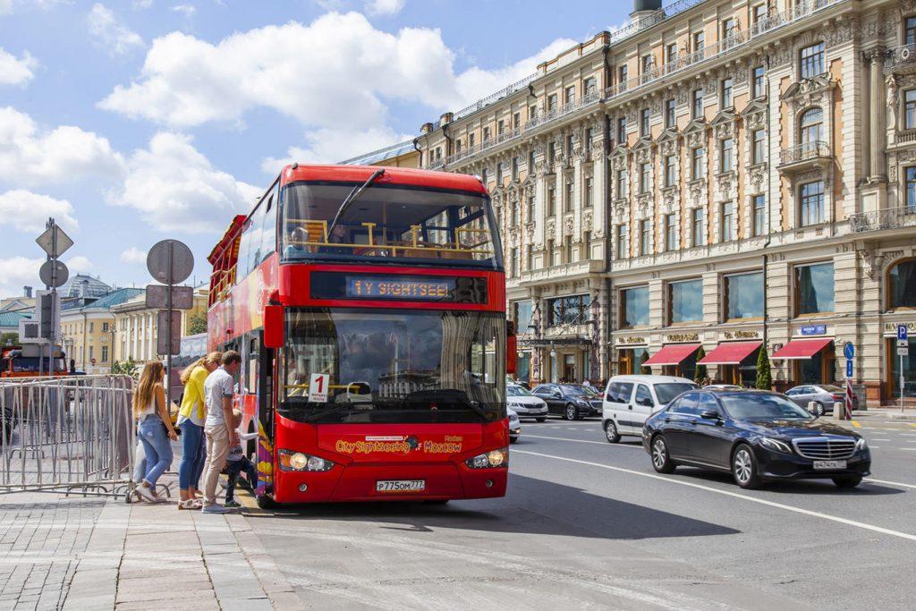 билеты на экскурсию на двухэтажном автобусе по Москве