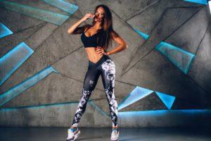 Push-up лосины для фитнеса