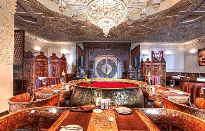 Ресторан «Дамас» на Маросейке