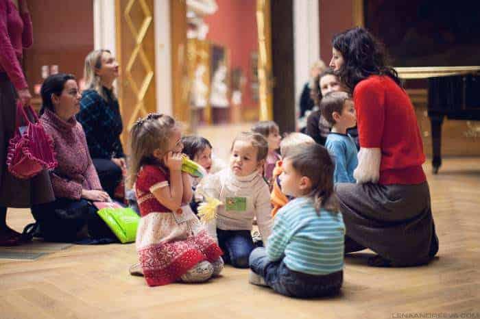 Экскурсия по Московскому Кремлю для детей