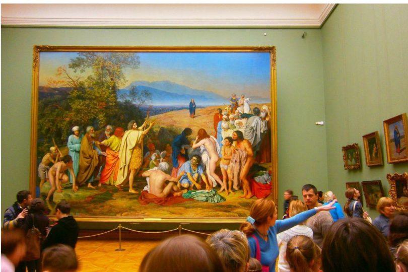 Экскурсия и квест по Третьяковской галерее