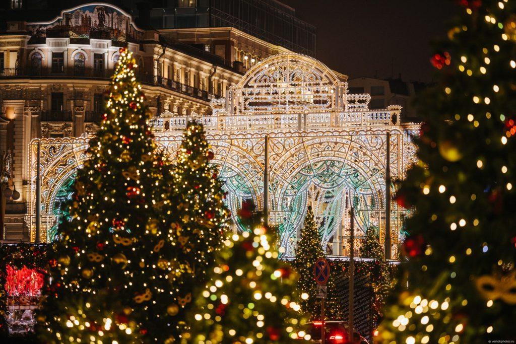 экскурсия Огни новогодней Москвы