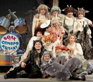 Новогодний мюзикл «Волк и Семеро козлят на новый лад»