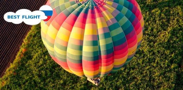 Купон на полет на воздушном шаре в Москве