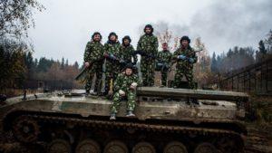Участие в танковом биатлоне от Воентанктур