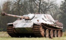 Поездка на танке ПТ-САУ Jagdpanther