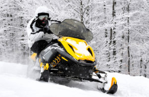 Катание на снегоходах от QuadroRent
