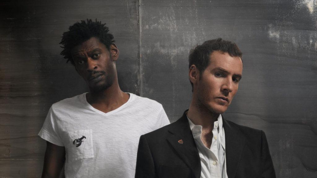 Massive Attack на Park live 2018