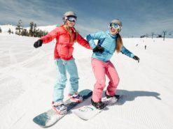 Обучение катанию на сноуборде