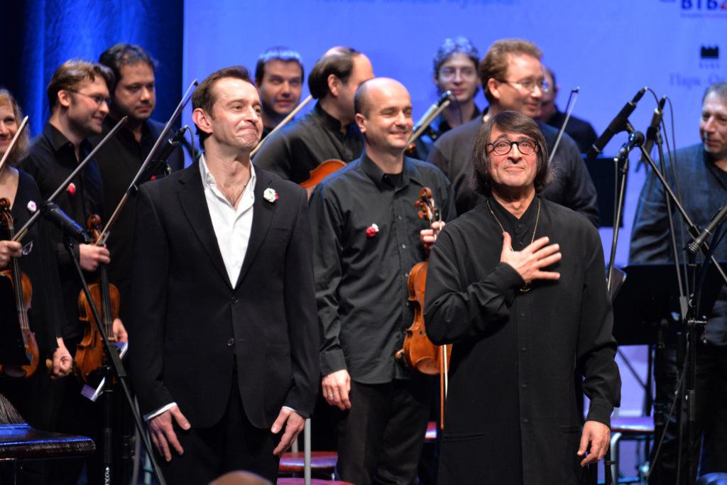 Билеты на концерт Хабенского и Башмета