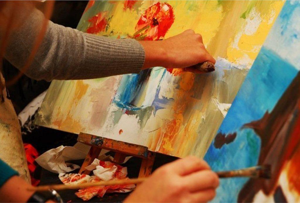 Купон в студию живописи Валенсия