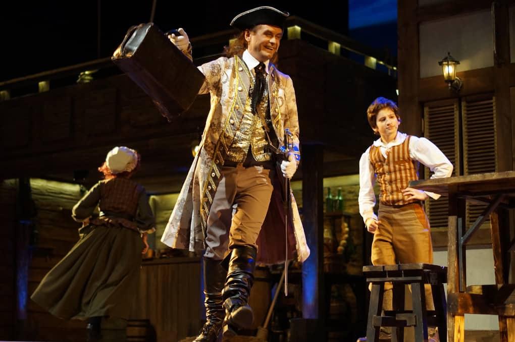 Мюзикл Остров сокровищ в Цирке чудес