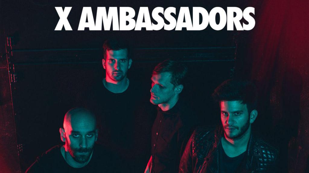 Концерт X Ambassadors в Москве 29 марта