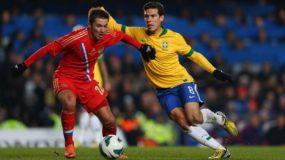 Футбольный матч Россия – Бразилия
