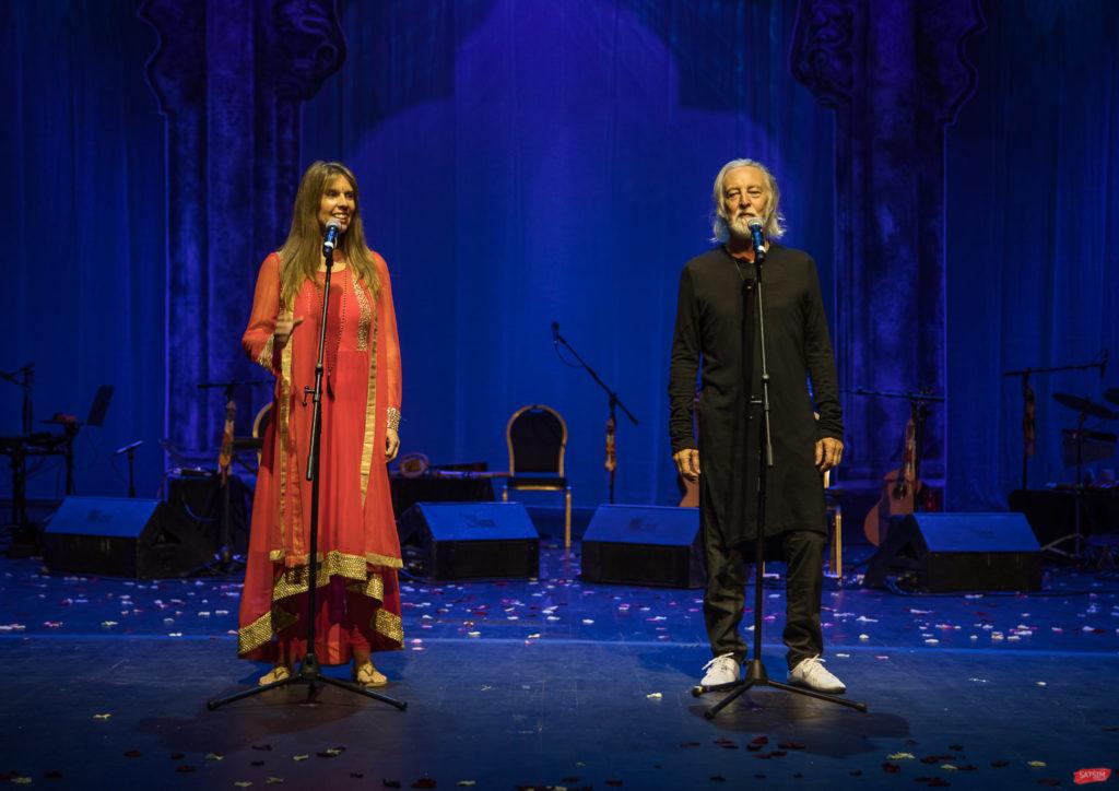 Концерт Дэвы Премал и Митена в Москве