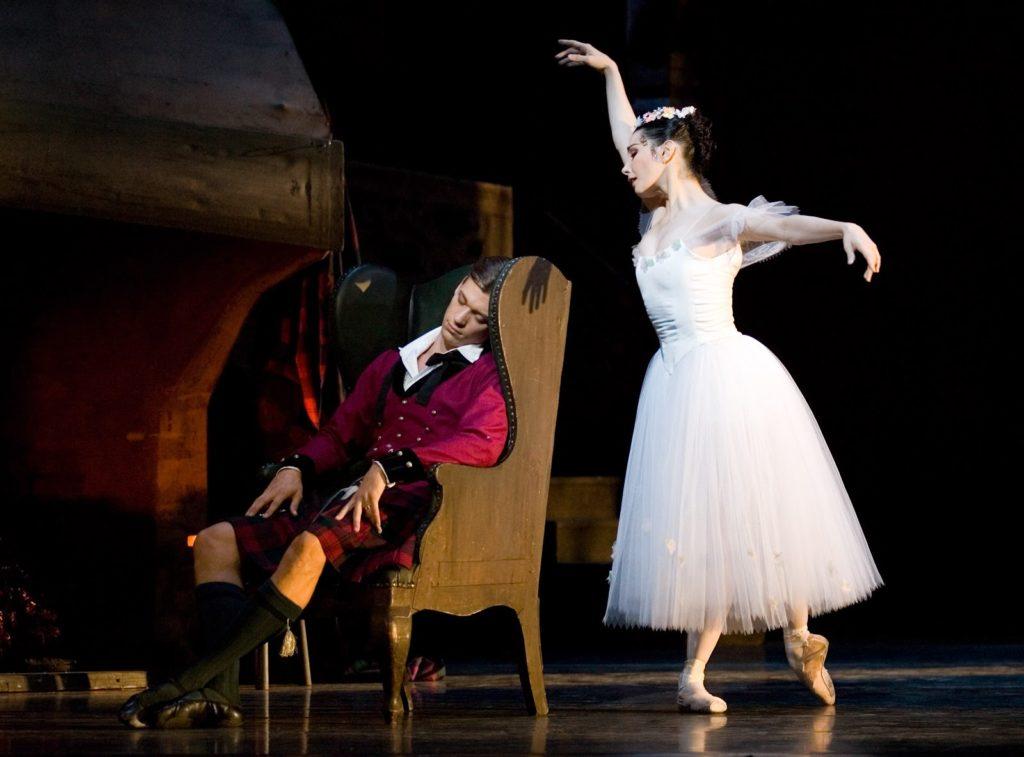 Балет Сильфида в Большом театре 31 марта