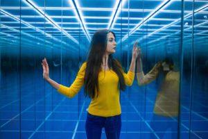 Зеркальный лабиринт Sky Maze