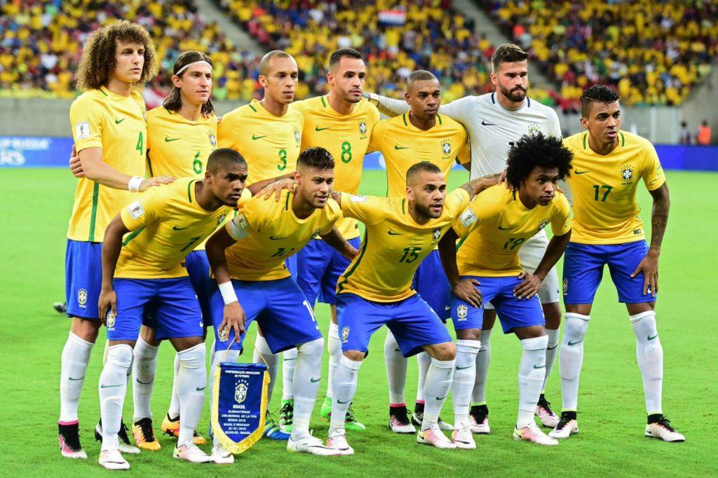 товарищеский матч Россия – Бразилия