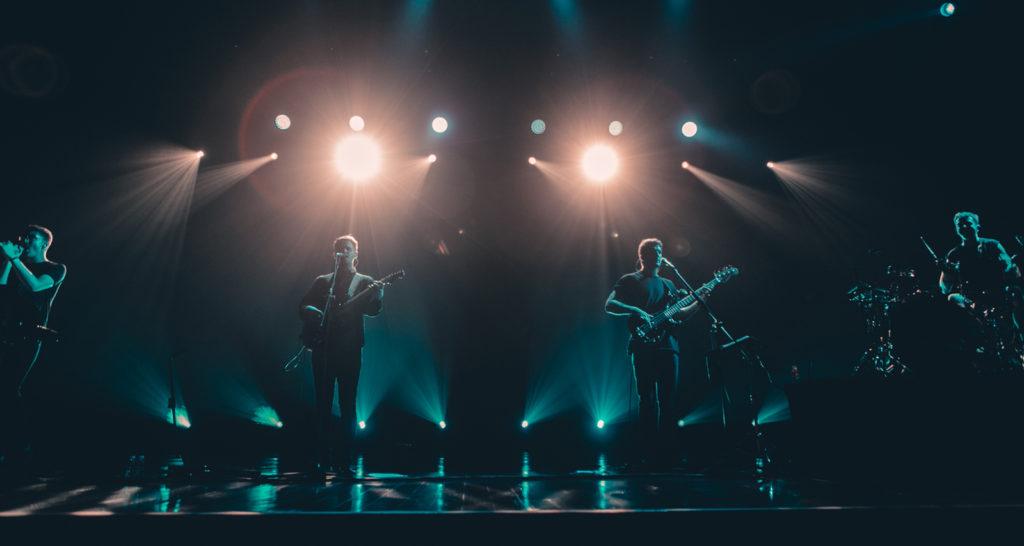 Концерт группы alt-J в Москве