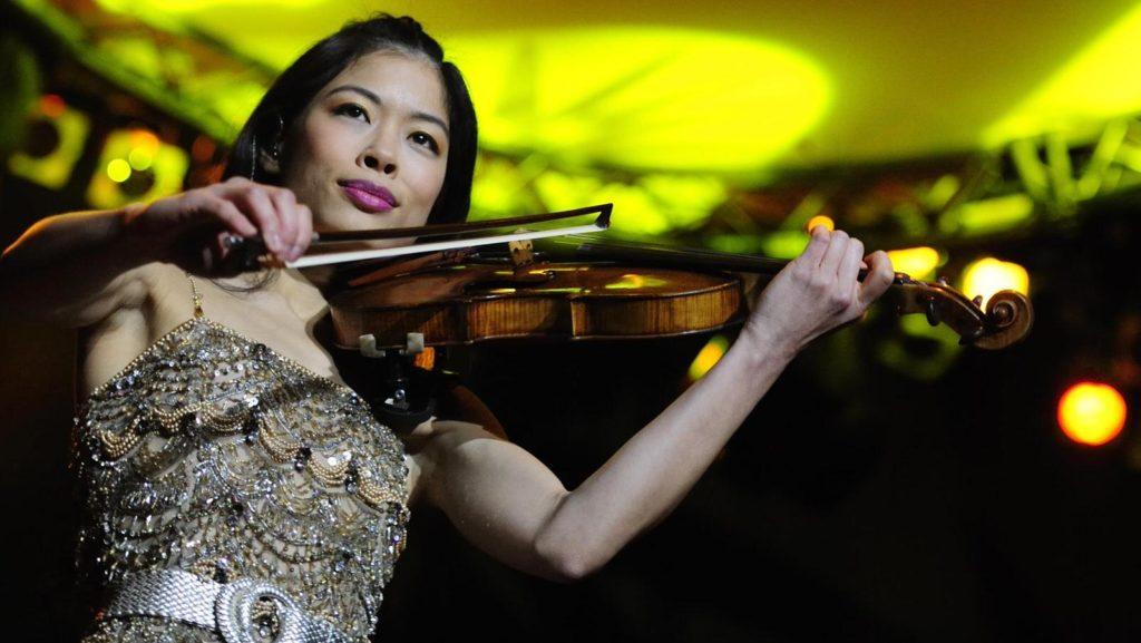 Концерт Ванессы Мэй в Москве 7 марта