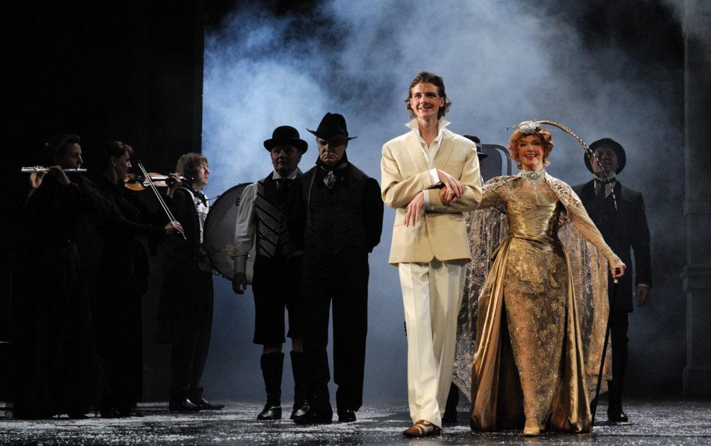 Спектакль Пристань в Театре Вахтангова