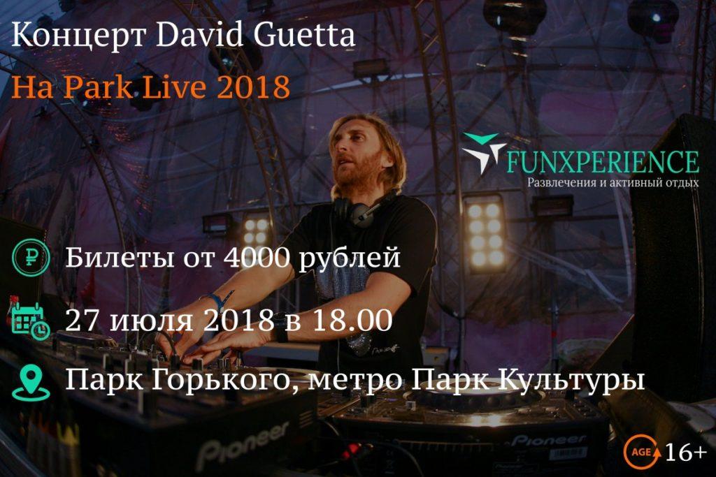 David Guetta Park Live