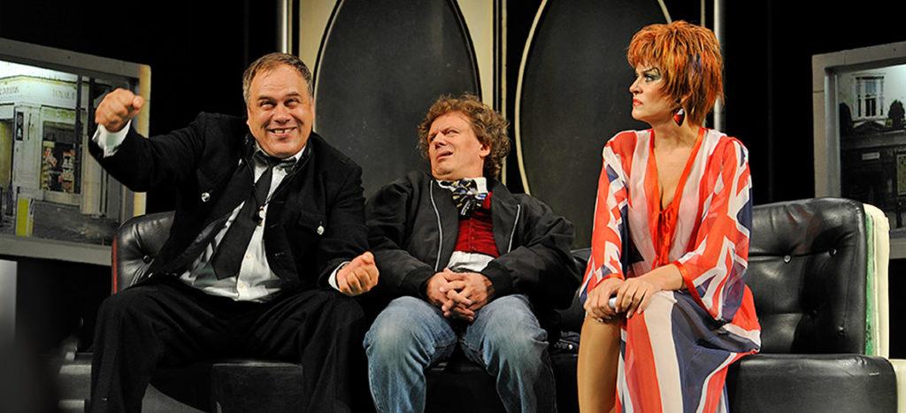 Спектакль «Слишком женатый таксист» в театре сатиры