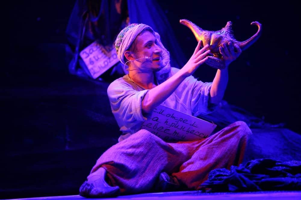 Спектакль «Волшебная лампа Аладдина» в Театриуме