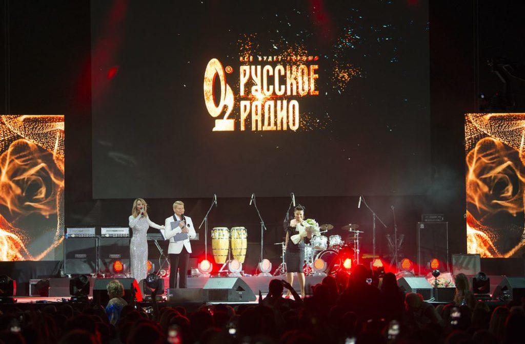 Большой весенний фестиваль «Звезды Русского радио» в Москве