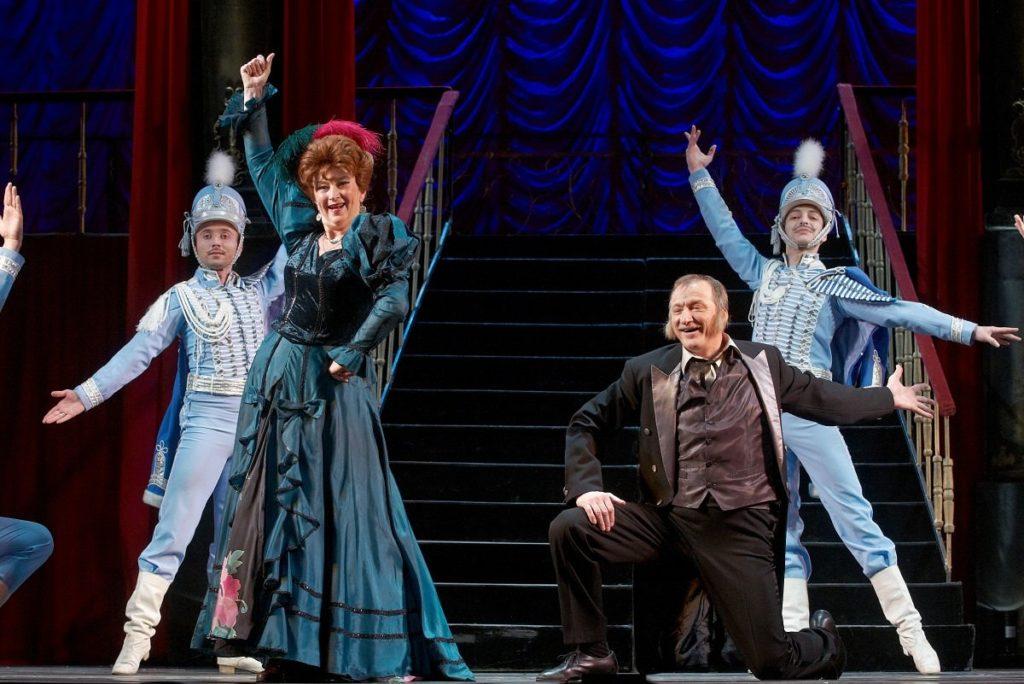 Спектакль «Мистер Икс» в театре оперетты
