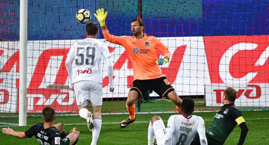 Матч Локомотив - Атлетико Мадрид в Москве
