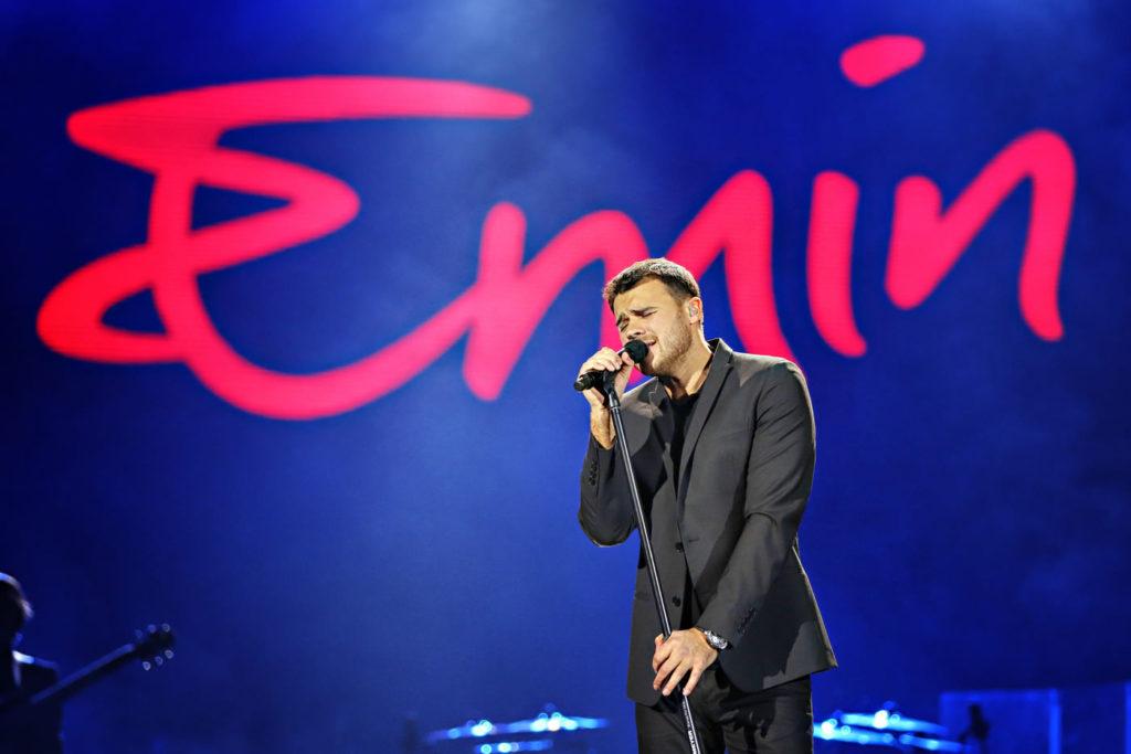 Праздничный концерт Emin в Москве