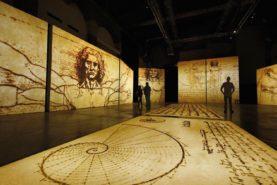 Мультимедийная выставка «Леонардо да Винчи»