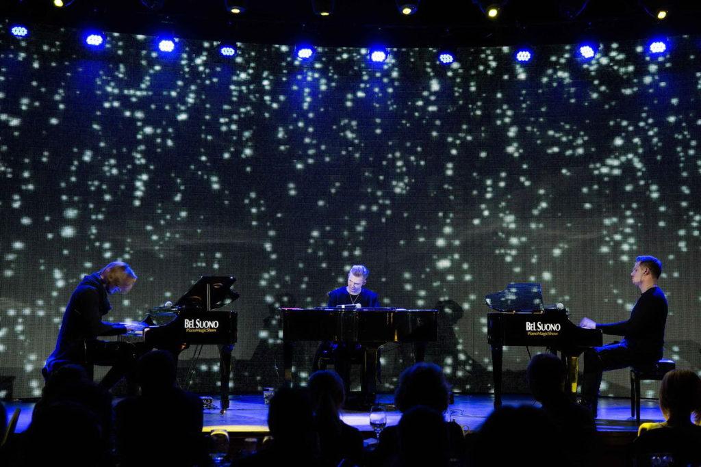Шоу трех роялей Bel Suono в Москве