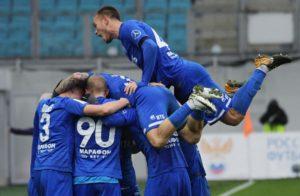 Матч Динамо - Краснодар