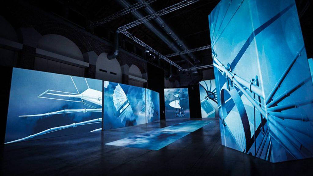 Мультимедийная выставка «Леонардо да Винчи» в Сокольниках